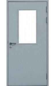 Остекление на технической двери